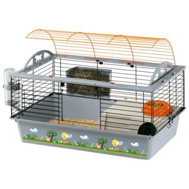карликовые кролики: клетка для кролика